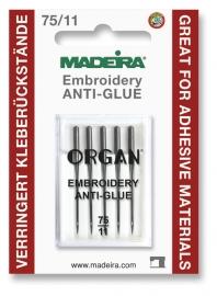 Õmblusmasina nõelad Anti-Glue 5x75 Madeira