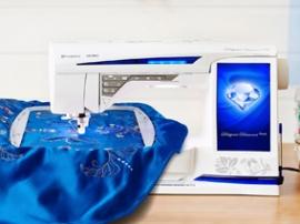 Tikkimis- ja õmblusmasin Husqvarna Viking Designer Diamond Royale
